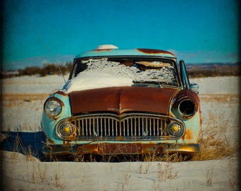 Vintage Car Fine Art Photography Rustic Home Decor Classic Print