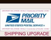 Priority Mail Shipping Upgrade USPS - US ONLY
