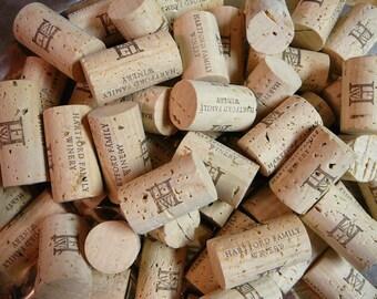 Wine Corks Lot of 50/New/Wedding Decor/Hartford Family Winery