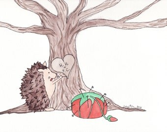 "Tree Love- 8""x10"" Print"