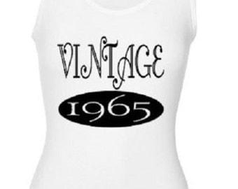 Vintage 1965 Tank Top