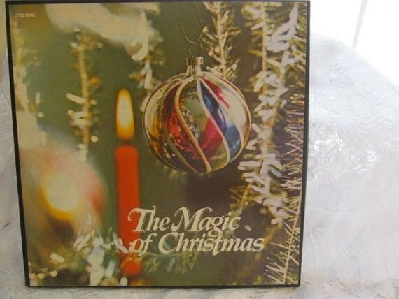 The Magic Of Christmas Columbia House Musical Treasury Record