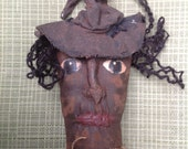 Extreme Primitive Halloween Grubby Witch Doll Sale
