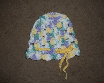 Baby Scalloped Hat