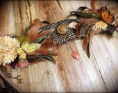 Woodland Fairy Butterfly - Headdress // for Tribal belly dance, Wedding, Party and Performance