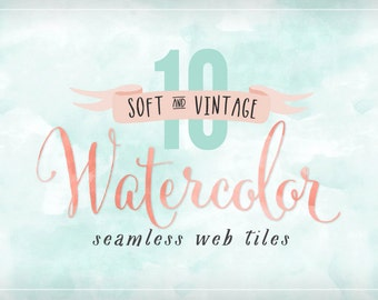 Watercolor Seamless Web Tile Textures for your blog or website