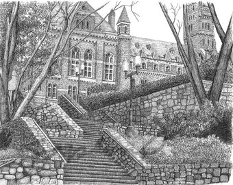 Georgetown University, digital file