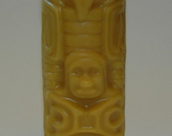 Pure Beeswax Candle-Totem Pole Candle -Northwest Style Totem Pole Pillar Beeswax Candle