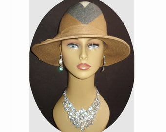 1950s Hat High Fashion Hollywood Garden Party Mad Men Rockabilly Garden Party Femme Fatale Couture