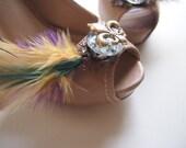 Fleur De Lis Mardi Gras Shoe Clip