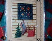 Felt Fantasies for the Holidays -   Easy to Make Felt Stocking and Felt Sampler Patterns by Quilter's Coop