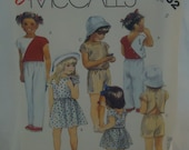 Vintage McCall's Pattern #2932 For Little Girls Size 5  Epsteam