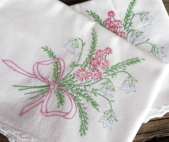 Hand Embroidery Patterns For Pillowcases Wiring Diagrams