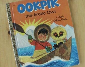 A Little Golden Book - Ookpik - The Arctic Owl