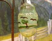 Hand Blown Ornament / Landscape