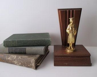 Vintage Trophy 1970s - graduation