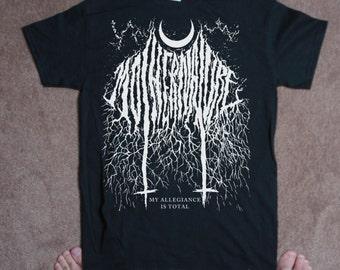 TSHIRT mother nature super black metal TSHIRT