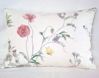 Decorative Pillow Cover Accent Botanical Lumbar Pillow Toss Pillow 15x20 Pillow Cover