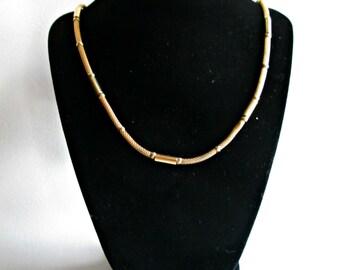 Vintage Napier Gold Tone Neckalace