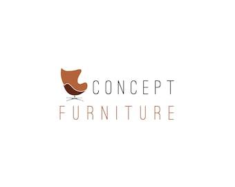 Furniture Logo Design, customizable Pre-designed  modern