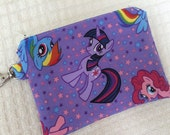 My Little Pony Friendship is Magic Small Zippered Pouch Brony