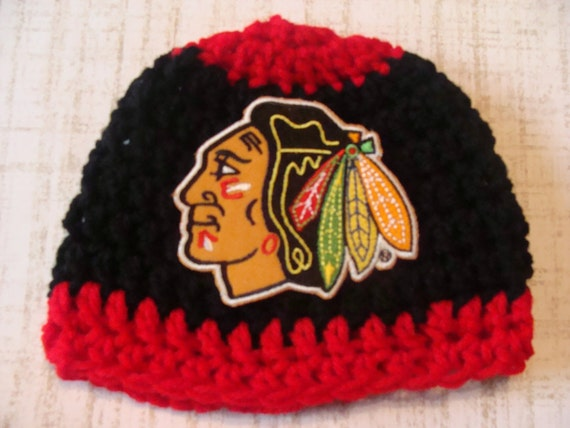 Baby boy gifts chicago : Chicago blackhawks monthsncrochet baby by