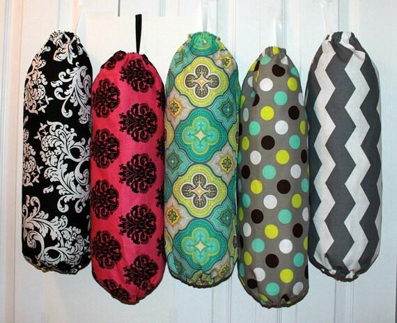 Crochet Pattern For Trash Bag Holder : Grocery Bag Holder Dispenser Trash Bag Holder Plastic Bag