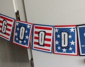 AIRFORCE AMERICAN Good Luck/Welcome Home Banner
