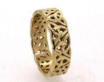 Celtic Ring in 9ct  rose Gold
