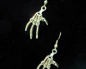 Claw Hand Earrings