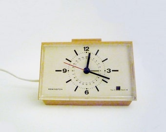 Vintage Electric Remington Desk Clock