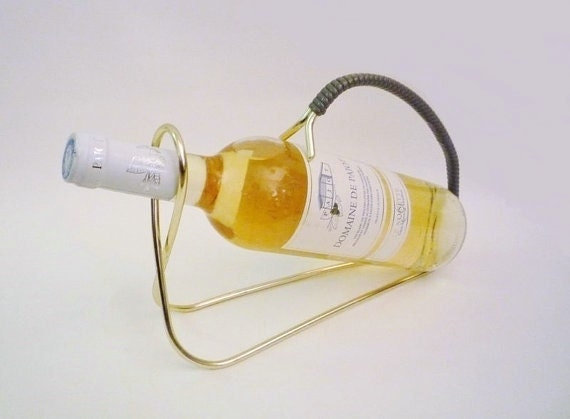 Mid Century Bottle Caddy