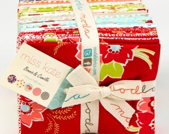 Miss Kate by Bonnie and Camille for Moda - Fat Quarter Bundle of Complete Collection