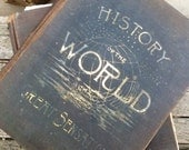 Victorian History of the World and its Great Sensations two book set massive tomes are art and stories