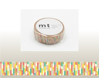 mt BLOCK PINK Washi Tape (10M)