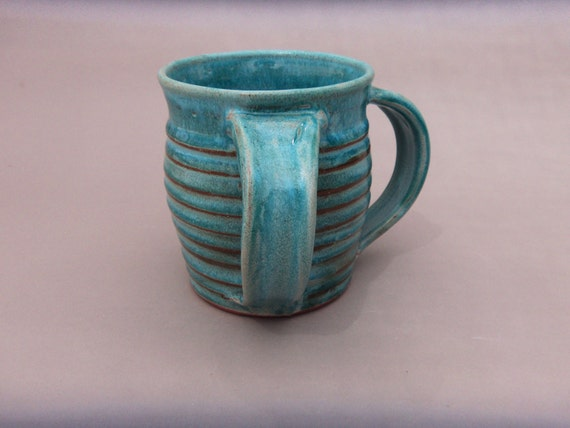 Washing Cup Ceramic Turquoise Negel Vasser