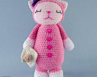Amigurumi Heart Pillow : Items similar to PATTERN: Tooth Fairy Pillow Owl Valentine ...