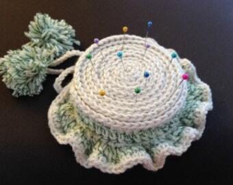 Crochet Pin Cushion Hat