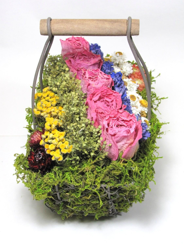 Contemporary Dried Floral Arrangement Modern Floral