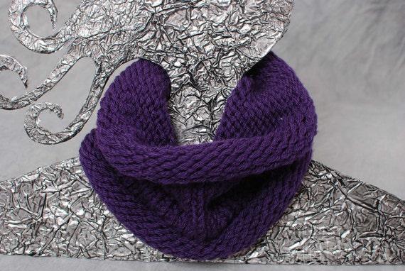 Purple Cowl/Infinity Scarf