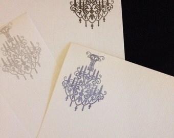 Chandelier Letter/Writing set