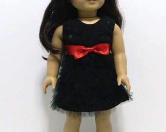 "Party Dress for American Girl and other 18"" Dolls"