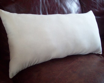 Handmade Pillow Insert - Pillow Cover Insert - Choose Your Size - Lumbar Pillow Insert by North Country Comforts