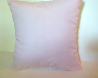 Pale Pink Pillow Cover Accent Throw 2 sizes