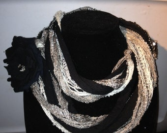 T shirt Infinity Scarf Necklace