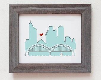 Memphis, TN. Personalized Gift or Wedding Gift