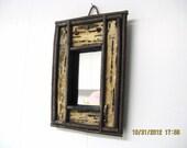 BARK+TWIG FRAME Rustic Bark and Twig Mirror, Reclaimed Wood, Log Cabin Decor, Birch Bark, Adirondack, Wall Mirror, Lake House, Rustic Mirror