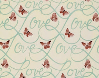 58006 Free Spirit Kathy Davis Enchantment collection PWKW058 - First love in silver sage  color- 1 yard