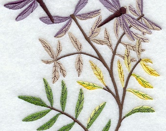 Dragonfly Flight Embroidered Flour Sack Hand/Dish Towel