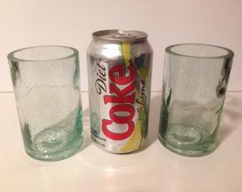 High West Distillery Recycled Bottle Tumbler Glasses - Set of 2